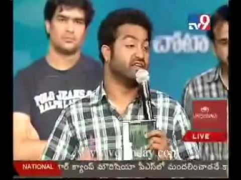 Xxx Mp4 Jr Ntr About Prabhas Munna Movie In Brundavanam Audio Launch 3gp Sex