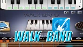 WALK BAND-- PIANO,GUITAR, DRUM... ---DZEPNI MUZICKI BEND ***ANDROID APPLICATION ***