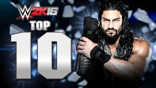 WWE 2K16 : Roman Reigns Top 10 Moves