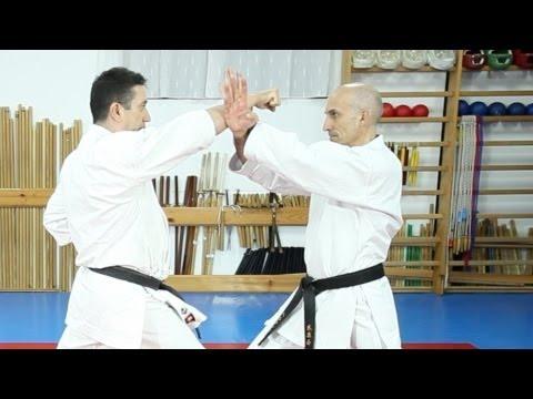Defensas Aprende karate Hasta cinturón azul Sapeando