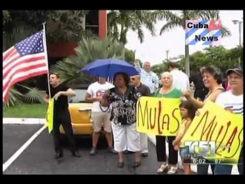 Bronca entre cubanos en Miami