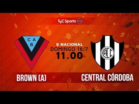 Primera B Nacional: Brown (A) vs. Central Códoba | #BNacionalenTyC
