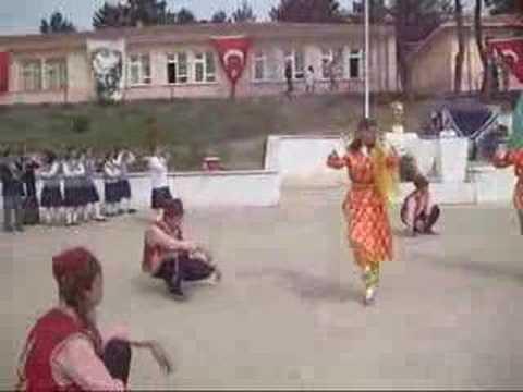 Zonguldak Ereğli Bayat İÖO 23 Nisan 2008 Halk Oyunları