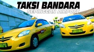 Begini Jenis Mobil Taksi Bandara di Sepinggan Airport Balikpapan (Taksi Bandara)