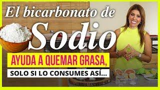 El bicarbonato de sodio ayuda a quemar grasa, solo si lo consumes así...