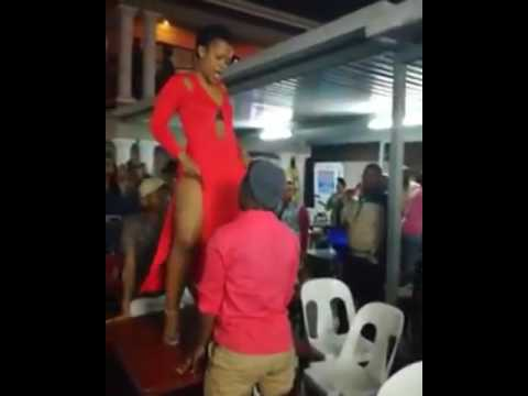 Xxx Mp4 Man Almost Eats Zodwa Wabantu S Punani As She Dances On Stage 3gp Sex