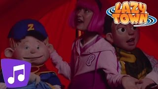 LazyTown | The Spooky Song Music Video