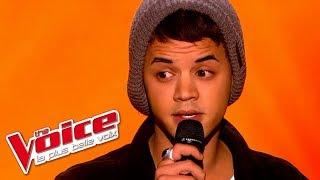 The Voice 2015│Yann'Sine Jebli - Dernière Danse (Indila)│Blind Audition
