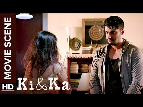 Arjun pokes fun on his maid   Ki & Ka   Movie Scene