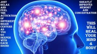 WARNING !! VERY POWERFUL BRAIN HEALING SOUNDS   MUST TRY 256m