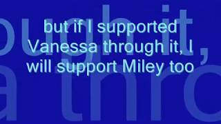 Miley Cyrus MySpace Photo Scandal