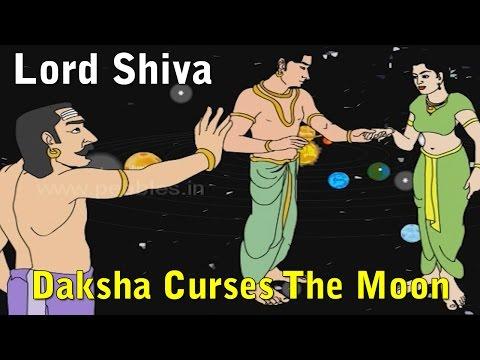 Daksha Curses The Moon   Lord Shiva Stories in English   Shiv Parvati Miracles   Shiva Tandav