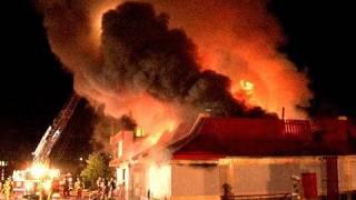 Fire Destroys McDonald's