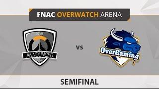 TBA vs. Overgaming - Partido 1 - Semifinales - FNAC Overwatch Arena