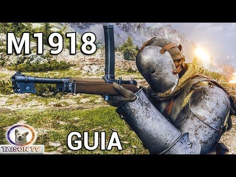 Battlefield 1 Automático M1918 Agujerea a