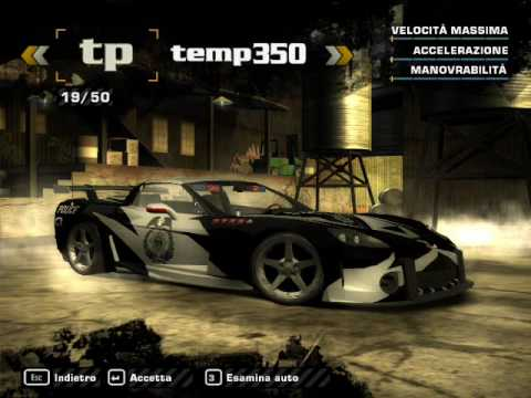 Need for speed most wanted all bonus cars