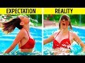 25 FUNNY SITUATIONS YOU'VE DEFINITELY BEEN IN    EXPECTATION VS REALITY