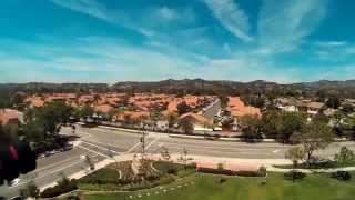 Rancho Santa Margarita California Park Quick Test Flight Walkera Scout X4