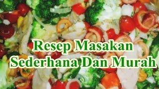 Resep Masakan Sederhana Dan Murah