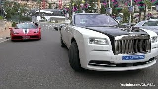 Rolls Royce Wraith with Starlight Roof in Monaco!