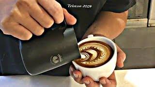 MESMERIZING Barista Latte Art Training Compilation! ~ Very Satisfying ~ [Chill lofi Hip hop beats]