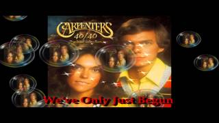 """The Carpenters...We've Only Just Begun  """" In H.D.""""  ( A  Cover By Mrs Flashback)  Pls Use Phones!"""