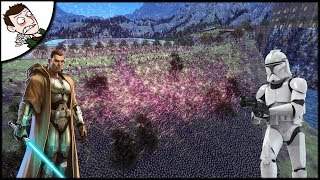 Massive 4500 Jedi v 30000 Clone Army Order 66 - Ultimate Epic Battle Simulator 1.1 Gameplay
