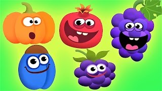 Baby Fun Game - Learn Colors Shapes Fruit Vegetables - Educational Baby Games