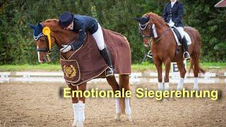 Emotionale Siegerehrung | Heimturnier M-Kür