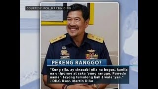Saksi: Pahayag ni DILG Usec. Martin Diño