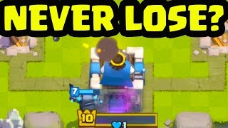'NEVER LOSE' in Clash Royale? Here's MY Answer!