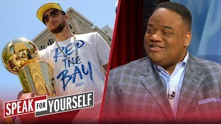 Steph Curry can 'absolutely' be on Mt. Rushmore if he keeps this pace —Whitlock   SPEAK FOR YOURSELF