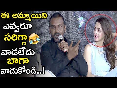 Xxx Mp4 Raghava Lawrence Funny Comments On Heroine Vedhika Kanchana 3 Movie Team Interview LATV 3gp Sex