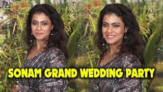 Ajay Devgn's Wife Kajol GRAND Entry At Sonam Kapoor Wedding Party