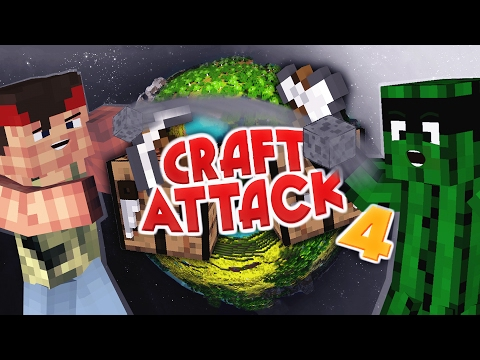 😍CRAFT ATTACK KOMPLETT GESPRENGT | CRAFT ATTACK 4  MAP DOWNLOAD