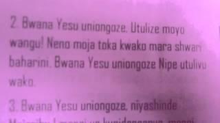 BWANA YESU, UNIONGOZE