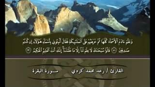 01 - سورة البقرة الجزء 1 - القارئ رعد محمد الكردي