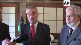 UK and German Ambassadors meet Libyan FM