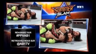 WWE SUMMERSLAM EN ENTIER EN FRANCAIS (VF) (PARTIE 2)