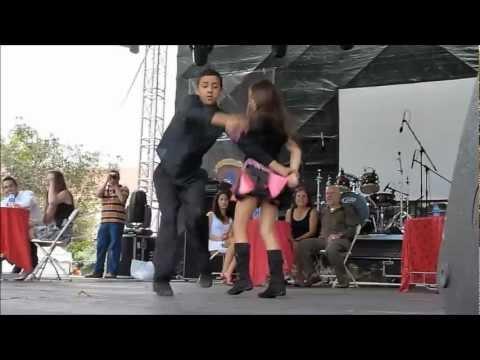 Swing criollo de Costa Rica Niños bailan Padre Nuestro Ligia Torijano 12