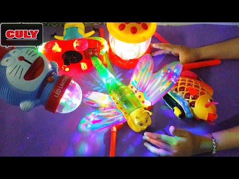 Đồ chơi lồng đèn tết trung thu doremon chuồn chuồn cá chép - Moon Festival toy for kid childrens