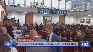 HB2 repeal bill passes House; goes to governor
