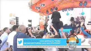 Flo Rida    I Don't Like It, I Love It feat  Robin Thicke on Today Show