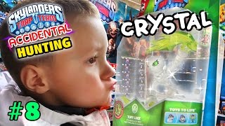 Lightcore Chase is Boss! / Crystal Tuff Luck FOUND! (Accidental Skylanders Trap Team Hunting #8)