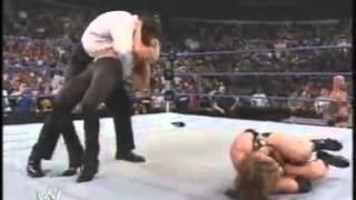A-Train Destroys Stephanie McMahon