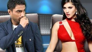 Sunny Leone's UNCENSORED LESBIAN KISS