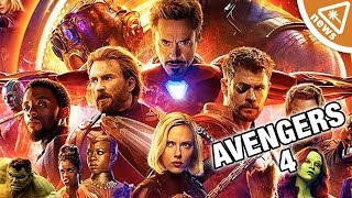 First Official Details Revealed for Avengers 4! (Nerdist News w/ Jessica Chobot)