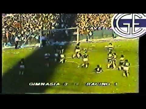 Racing Gimnasia Final Octogonal 1984 Ida