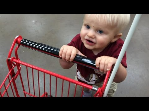 Kid Size Shopping Trip