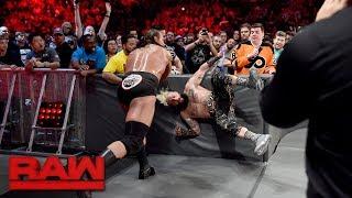 Enzo Amore vs. Big Cass - Brooklyn Street Fight: Raw, Aug. 21, 2017